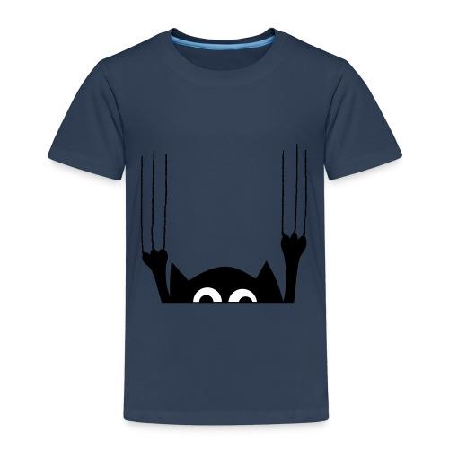 Katze Kratzspur - Kinder Premium T-Shirt