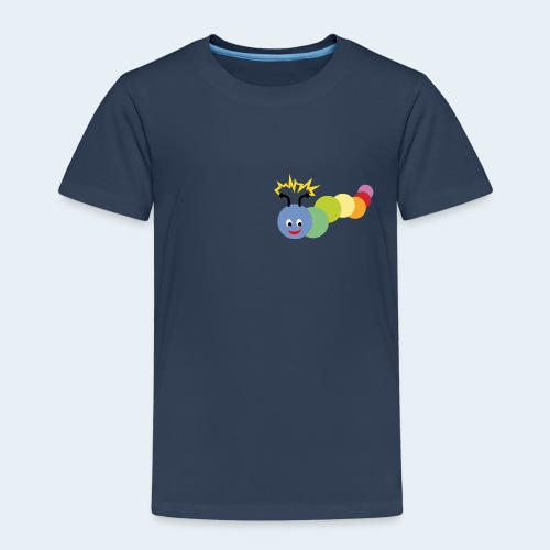 Stromer Raupe bunt - Kinder Premium T-Shirt