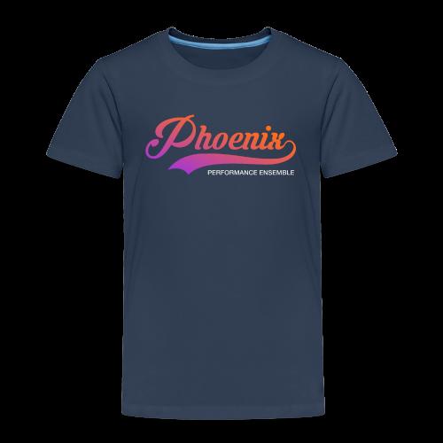 Phoenix Retro Color - Kinder Premium T-Shirt