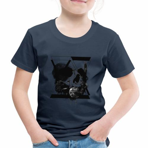hourglass Skull - Maglietta Premium per bambini