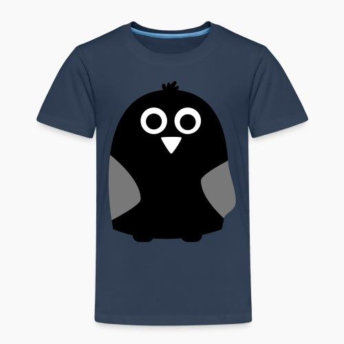 Liquorice Black Owl - Kids' Premium T-Shirt