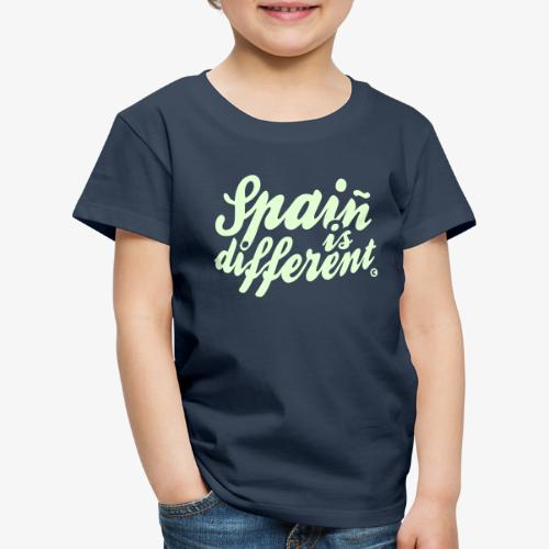 Spain is different con ñ - Camiseta premium niño