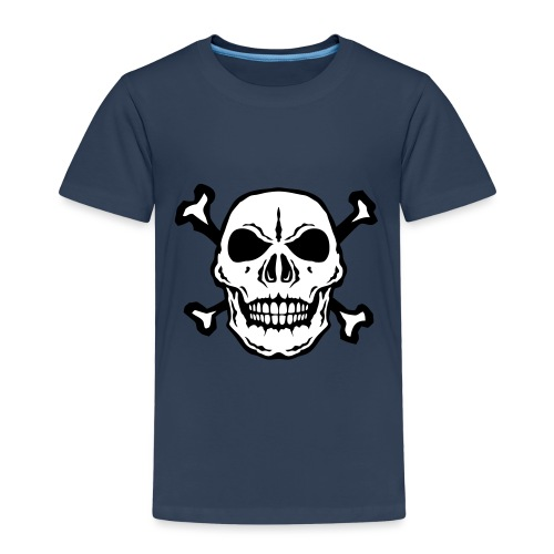 tete mort skull os dead 2706 - T-shirt Premium Enfant