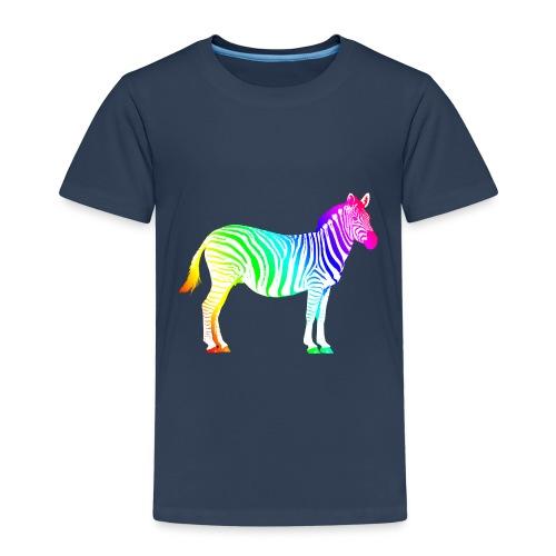 Zebra Afrika Equus Regenbogen Safari Sommer Magie - Kids' Premium T-Shirt