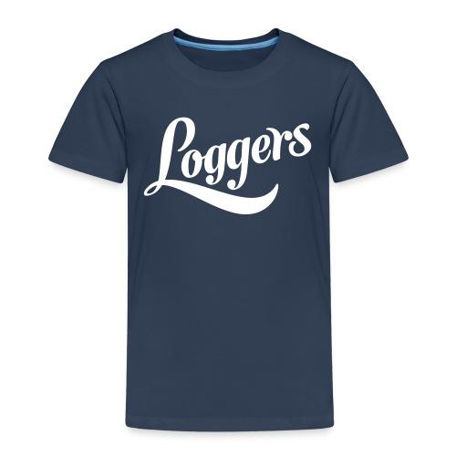 Loggers 1 color logo - Premium T-skjorte for barn
