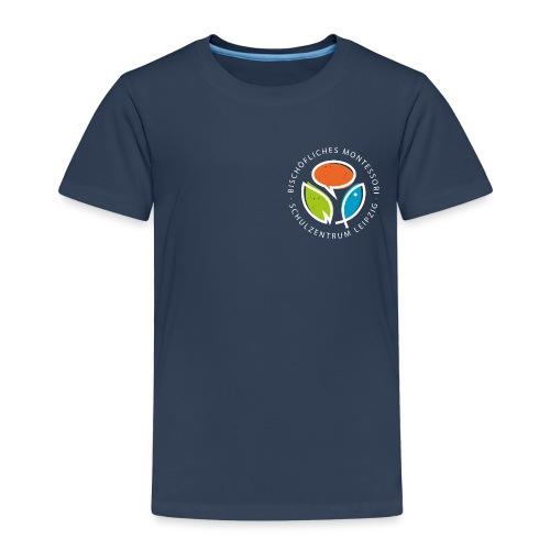 Monte Rundlogo invers - Kinder Premium T-Shirt