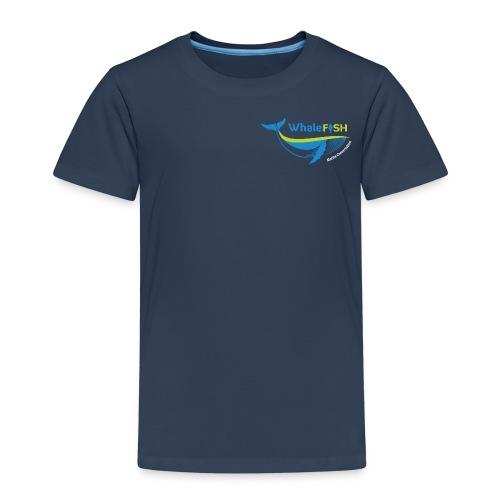 WF Logo With Strap WHITE png - Kids' Premium T-Shirt
