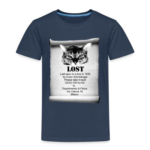 Schrodinger's cat - Maglietta Premium per bambini