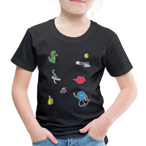 QWANT JUNIOR DINO - T-shirt Premium Enfant