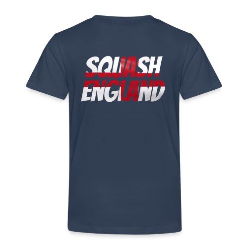 Squash England - Kids' Premium T-Shirt