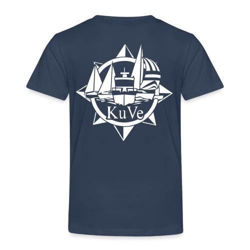 KuVe-logo (1) - Lasten premium t-paita