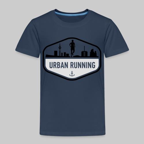 UrbanRunningLogo - Kinder Premium T-Shirt