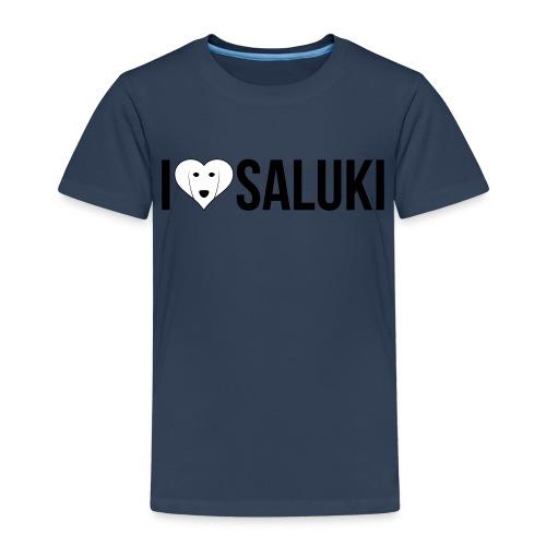 I Love Saluki - Maglietta Premium per bambini