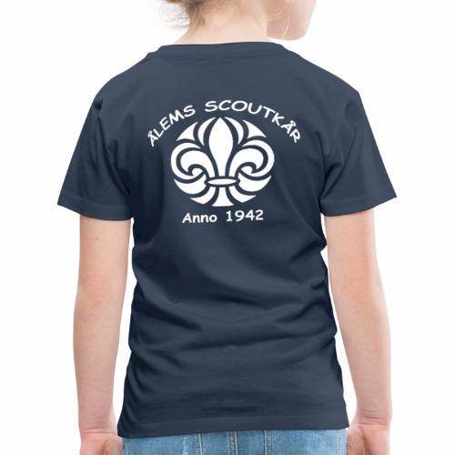 Ålem 4 png - Premium-T-shirt barn