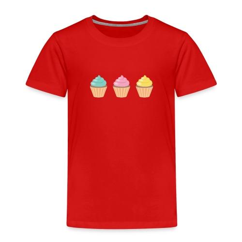 cupcakes png - Kinder Premium T-Shirt