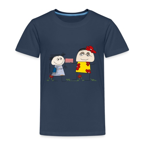 023 kleiner bruder 4000x4000px - Kinder Premium T-Shirt