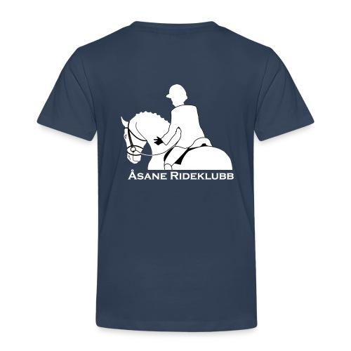 aark negativ gif - Premium T-skjorte for barn