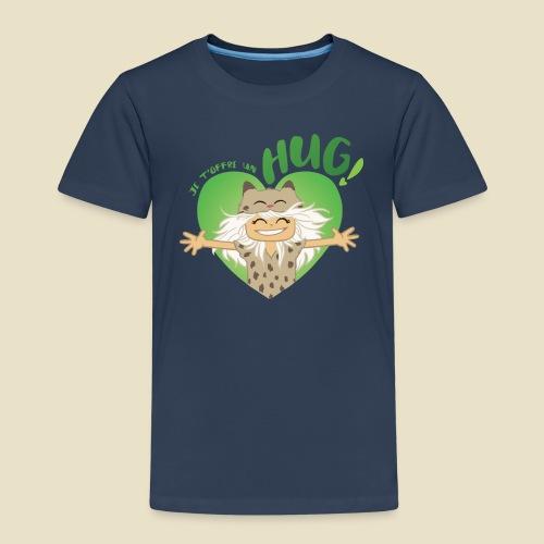 Janou t'offre un hug! - T-shirt Premium Enfant