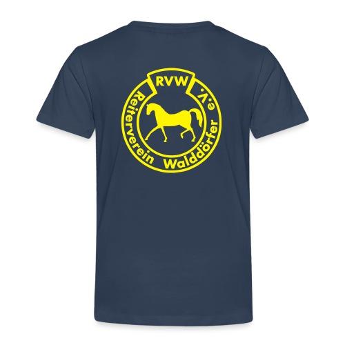 RVW Logo gelb - Kinder Premium T-Shirt