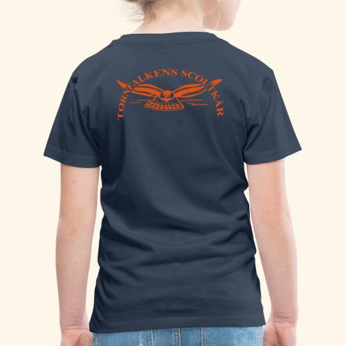 Tornfalkens scoutkår Logo - Premium-T-shirt barn