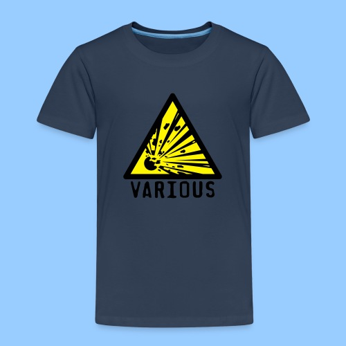 VariousExplosions Triangle (2 colour) - Kids' Premium T-Shirt