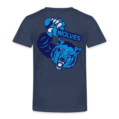 Wolves Rugby - T-shirt Premium Enfant