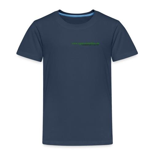 schriftzug trans - Kinder Premium T-Shirt