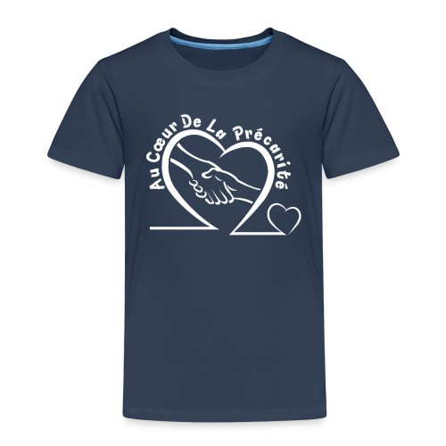 LOGO VETMENT BLANC 01 png - T-shirt Premium Enfant