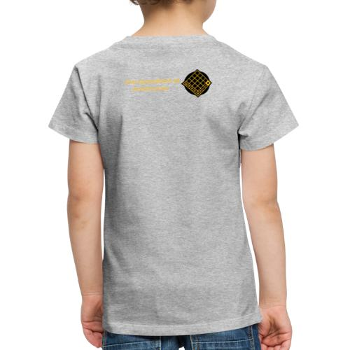 TIAN GREEN Welt Mosaik Shirt - Logo 2020 - Kinder Premium T-Shirt
