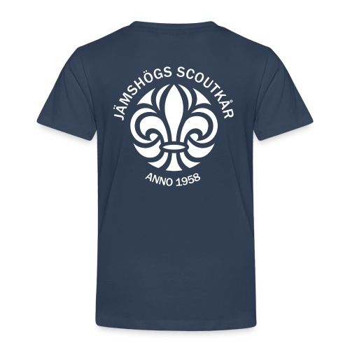Jämshögs Scoutkår - Premium-T-shirt barn