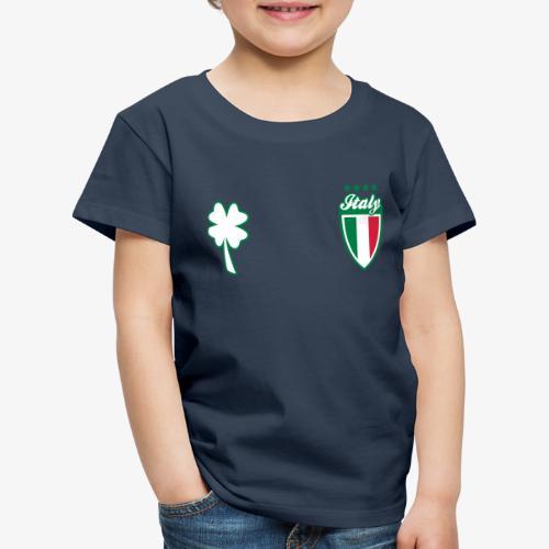 Italia Scudo e trifoglio - Maglietta Premium per bambini