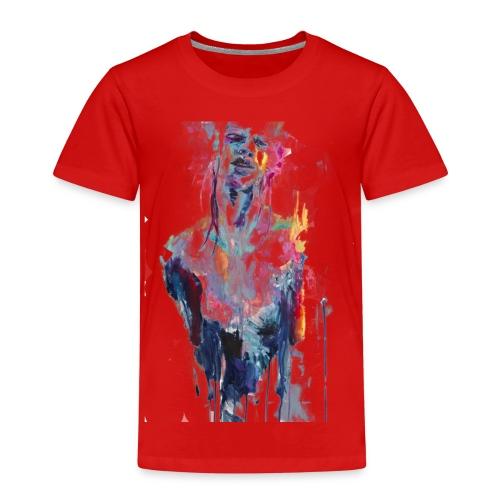 painting half man - Maglietta Premium per bambini
