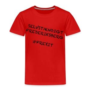 Selvstændigt Frederiksberg #FREXIT - Børne premium T-shirt