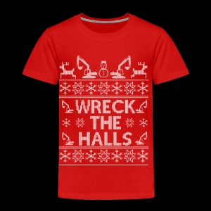 WRECK THE HALLS - Kids' Premium T-Shirt