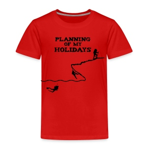 Planning of my holidays - T-shirt Premium Enfant
