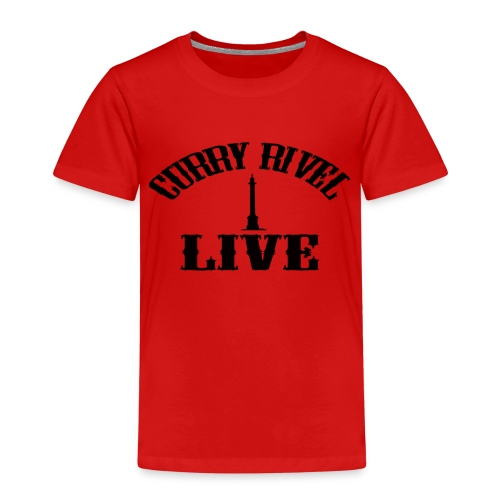 Curry Rivel Live Logo - Kids' Premium T-Shirt