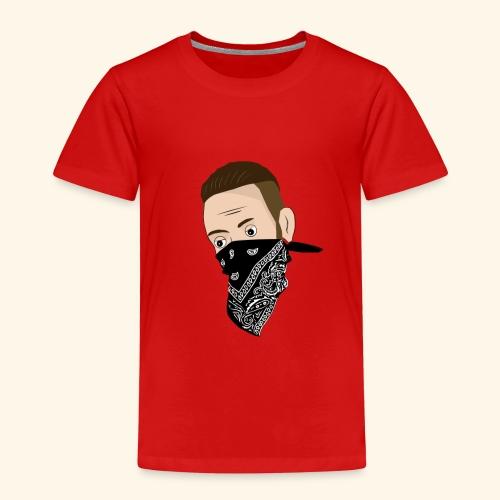 Sun Diego Cartoon (Nur Gesicht) - Kinder Premium T-Shirt
