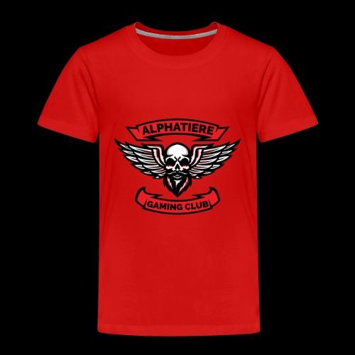 Alphatiere Gaming Club Classic - Kinder Premium T-Shirt
