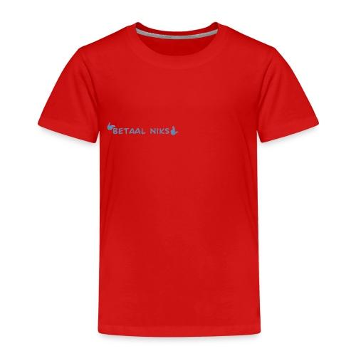 Betaal niks - Kinderen Premium T-shirt