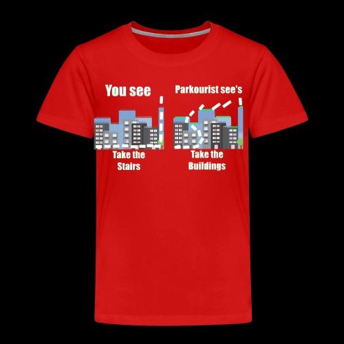 you see - Kids' Premium T-Shirt