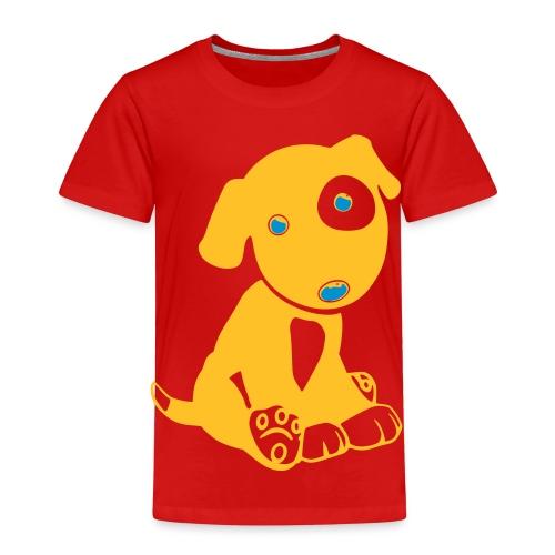 Hund niedlich - Kinder Premium T-Shirt