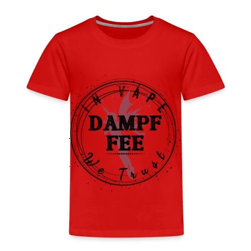 Dampf Fee Logo - In Vape We Trust - Kinder Premium T-Shirt