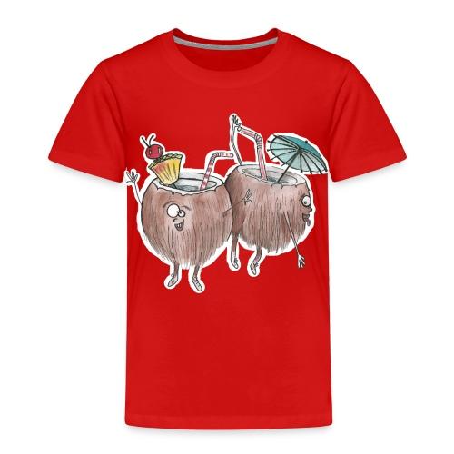 crazy like a coconuts - Kids' Premium T-Shirt