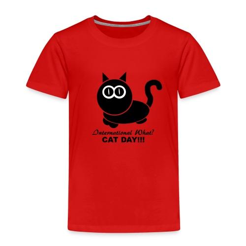 International Cat Day - Kinder Premium T-Shirt