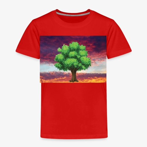 Tree in the Wasteland - Kids' Premium T-Shirt