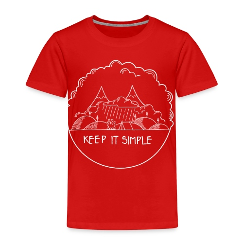 Keep it Simple Cloudy - Kinder Premium T-Shirt