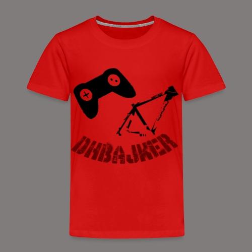 dhbajker logo - Kinder Premium T-Shirt