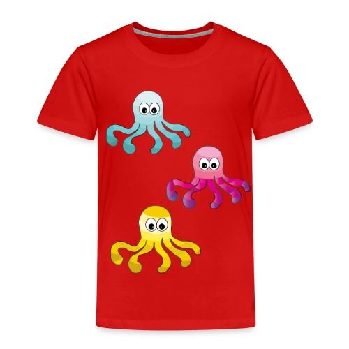 Tintenfisch ❤ - Kinder Premium T-Shirt