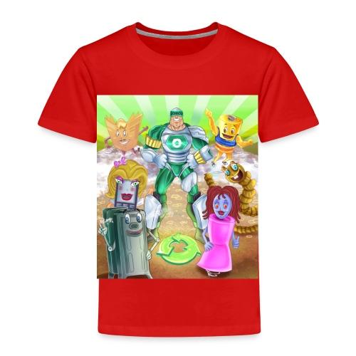 Captain Reece Icle - Kids' Premium T-Shirt