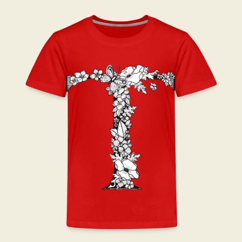Buchstabe T - Kinder Premium T-Shirt